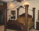 Tuscan home - Master Bedroom