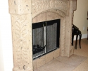 Tuscan home - Fireplace