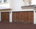 Tuscan home - Garage doors