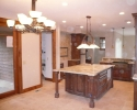Pine Canyon Home Design - kitchen island