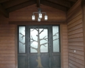 Pine Canyon Home Design - front door